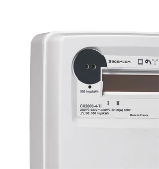 Electricity - Smart Meter   Sagemcom