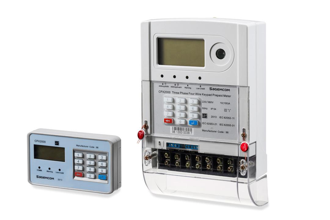 Cpx 2000 Three Phase Meter Sagemcom
