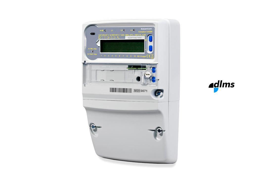 Industrial Energy Meters : Compteur industriel triphasé cx sagemcom